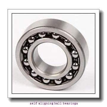 25 mm x 62 mm x 24 mm  SKF 2305 ETN9  Self Aligning Ball Bearings